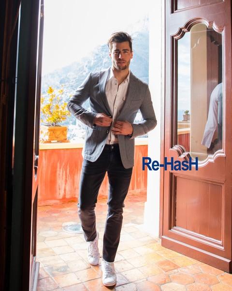 Jean bleu - Mannequin Re-Hash - Christian Ambrosio