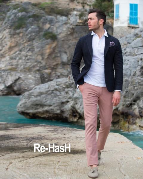 Pantalon rose - Mannequin Re-Hash - Christian Ambrosio