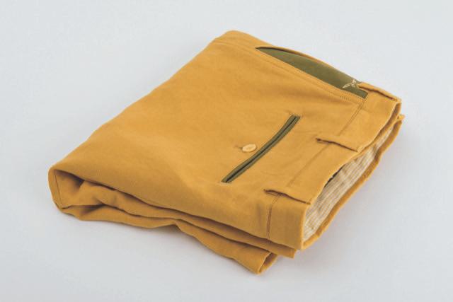 Pantalon jaune moutarde - Christian Ambrosio
