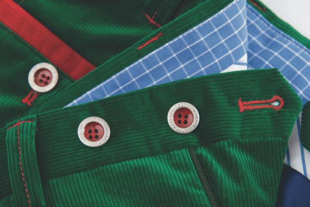 Pantalon vert - Christian Ambrosio