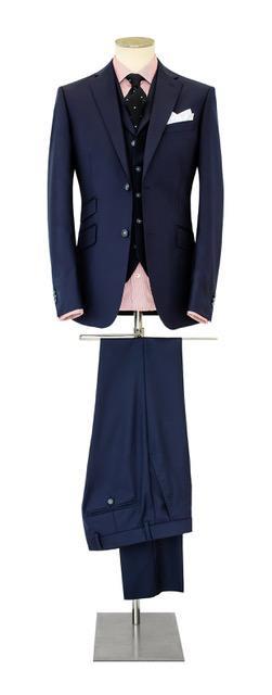 Costume-sur-mesure bleu très foncé - Christian Ambrosio