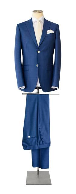 Costume-sur-mesure bleu foncé - Christian Ambrosio