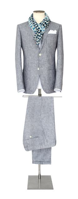 Costume-sur-mesure gris - Christian Ambrosio