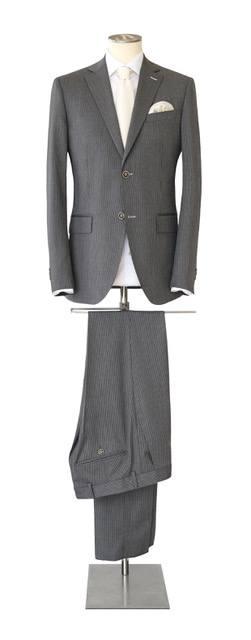 Costume-sur-mesure gris foncé - Christian Ambrosio