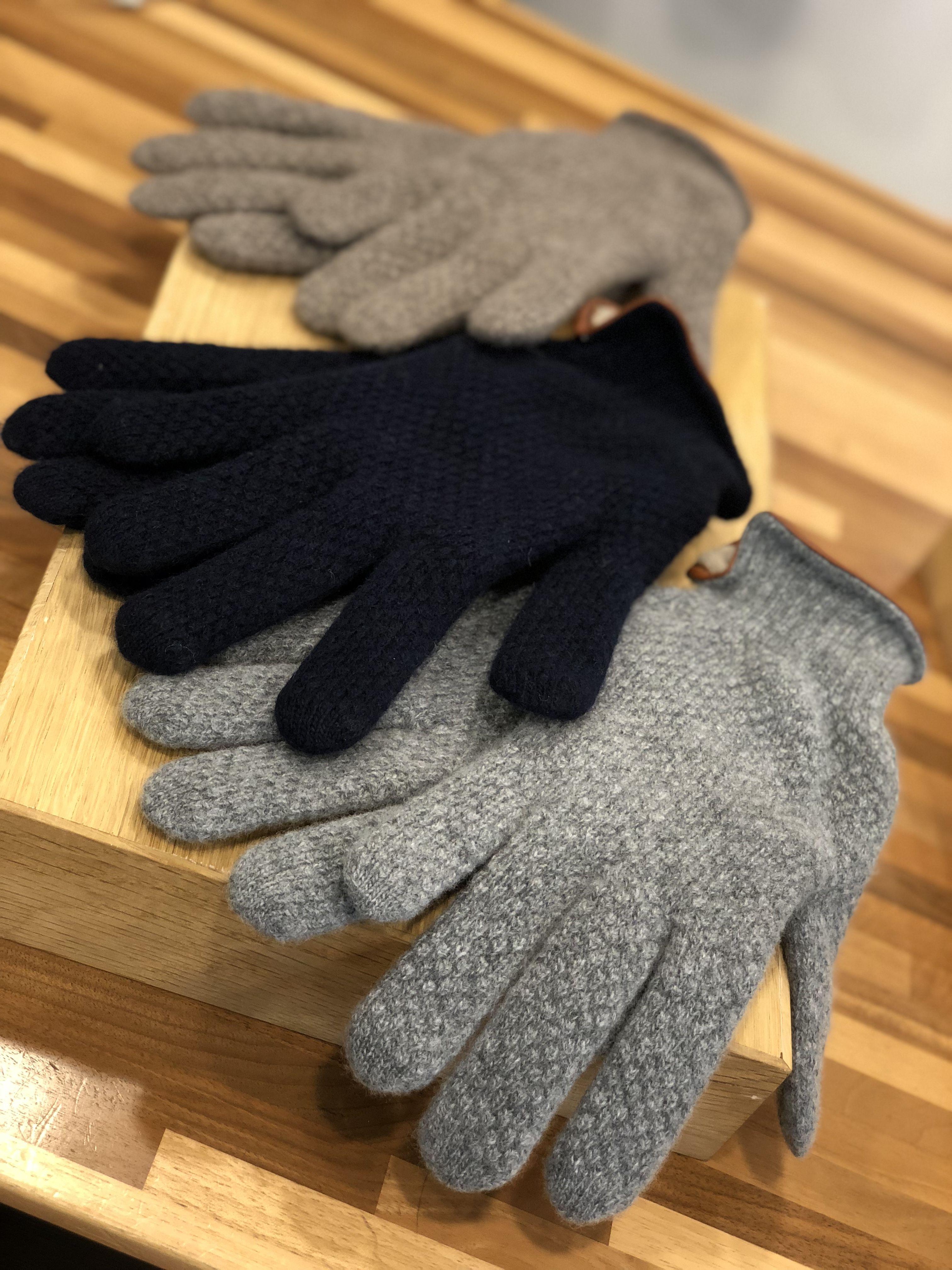 Gants gris et noir - Christian Ambrosio