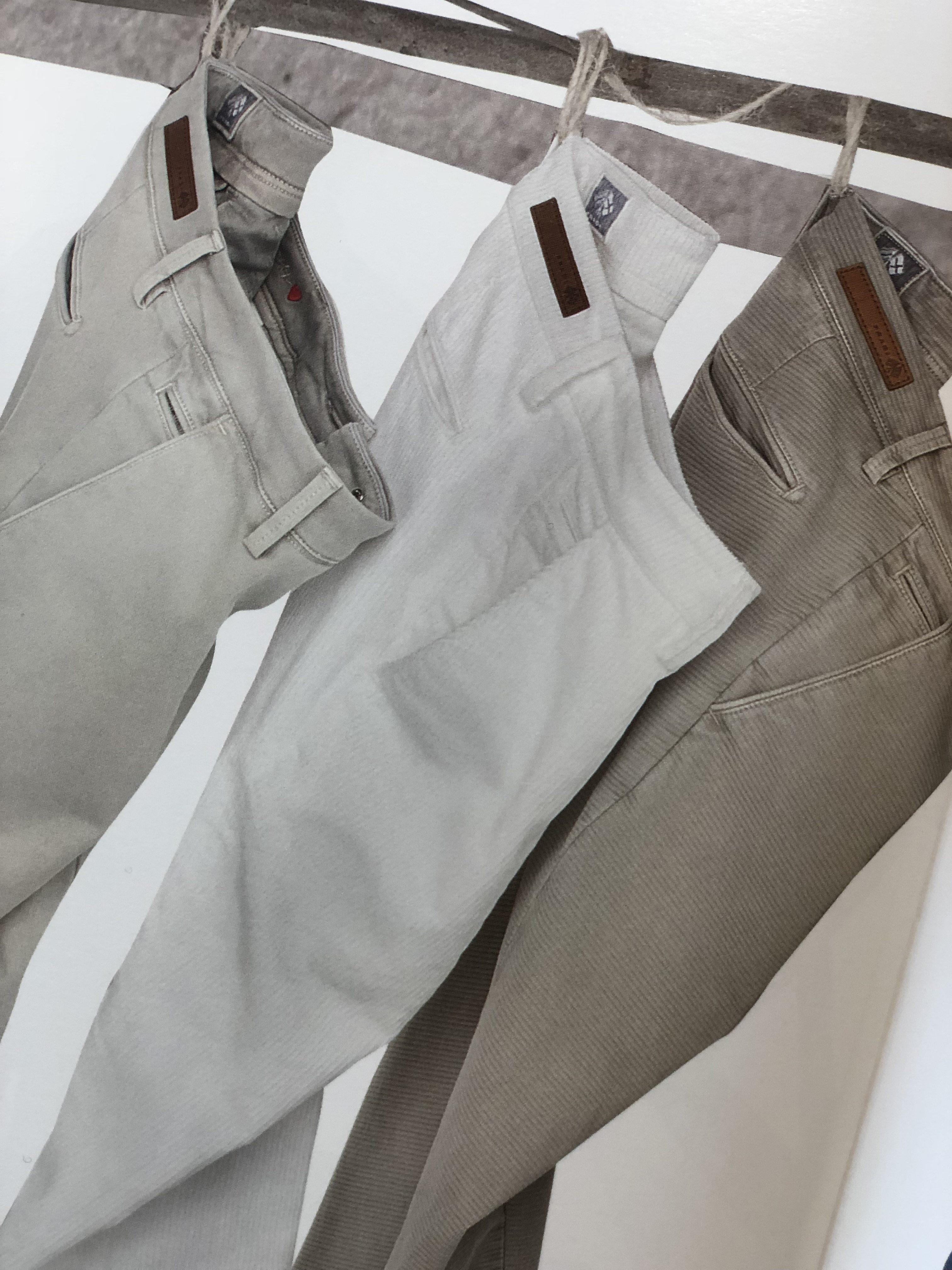 Trio pantalon gris - Christian Ambrosio