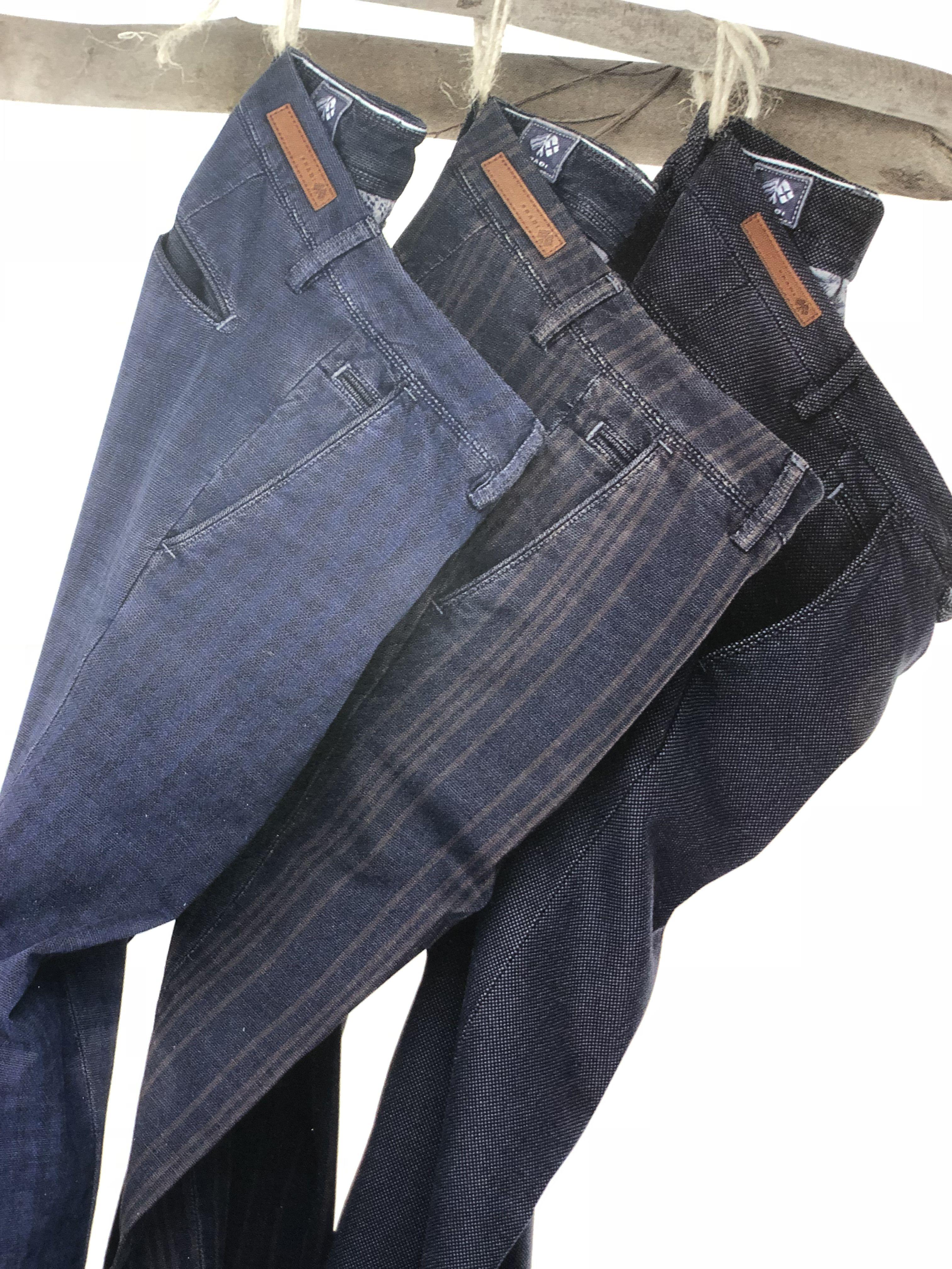 Trio pantalon bleu - Christian Ambrosio